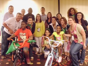 Kids with bikes CSR